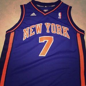 New York Knicks Carmelo Anthony Road Jersey